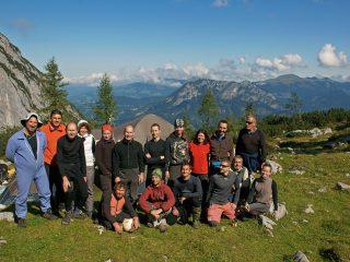 Обща снимка на участниците в Тененгебирге 2015
